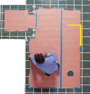 Vinyl Flooring Template