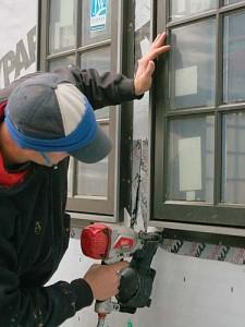 Window Nailing Flange