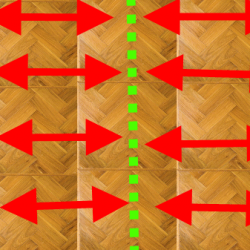 Sand Parquet Flooring Step 3
