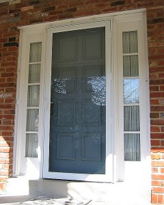 But Storm Doors Do Not Come Off. They Stay In Place, Year Round. They Are A  Completely Different Animal Than Storm Windows.