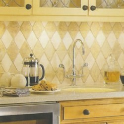how to put kitchen tiles
