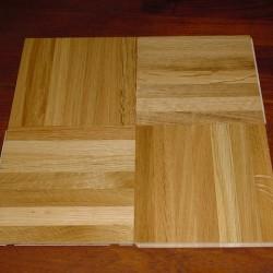 Wood Parquet Tile Flooring Easy Renovate