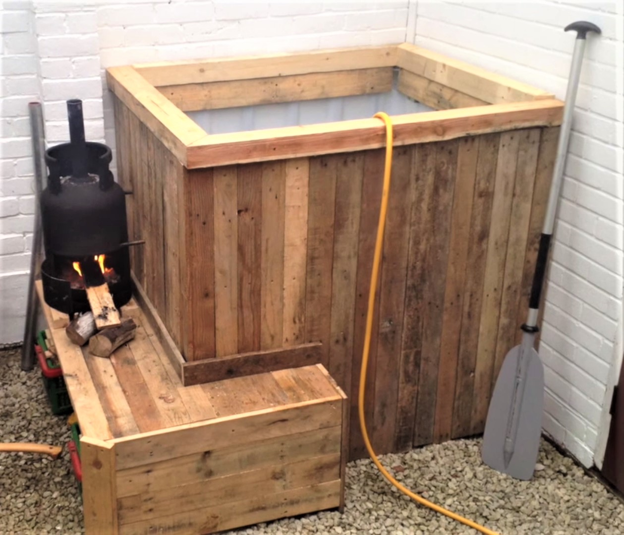 IBC Tote Hot Tubs - DIY Personal-Sized Fun or Pure Fancy?
