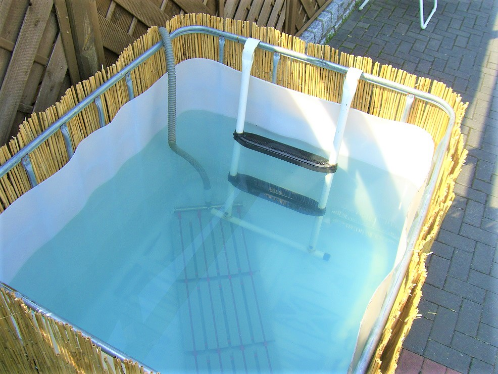 Ibc Tote Hot Tubs Diy Personal Sized Fun Or Pure Fancy